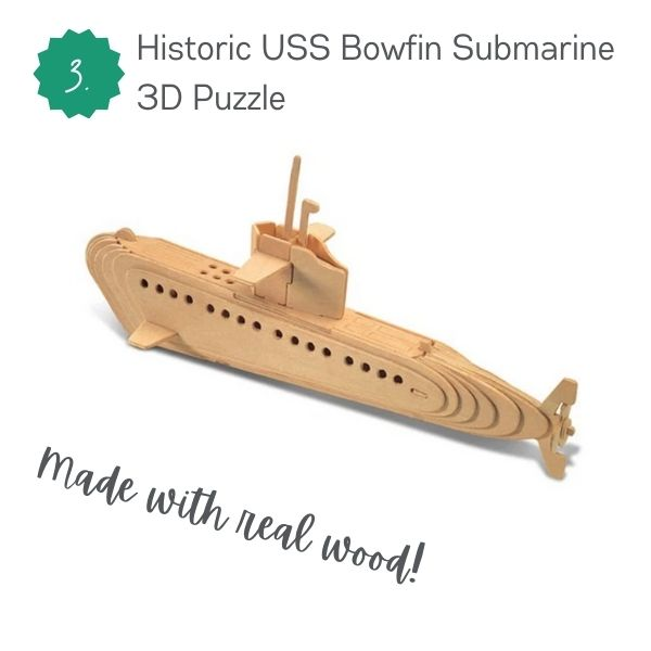 Bowfin Wood Puzzle